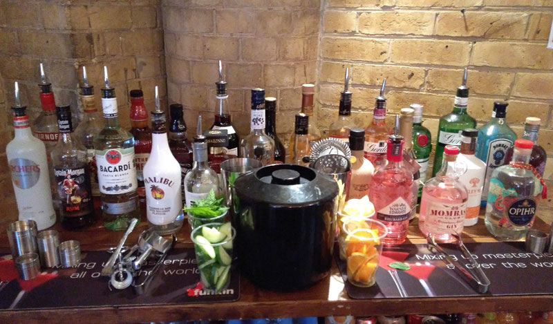 Mobile Gin Bar Hire