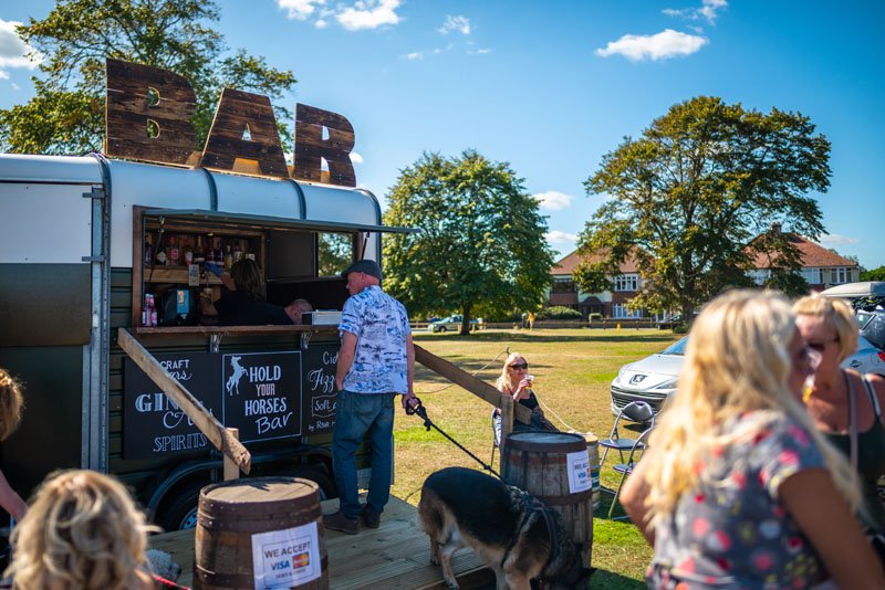 Horsebox Bar for Events